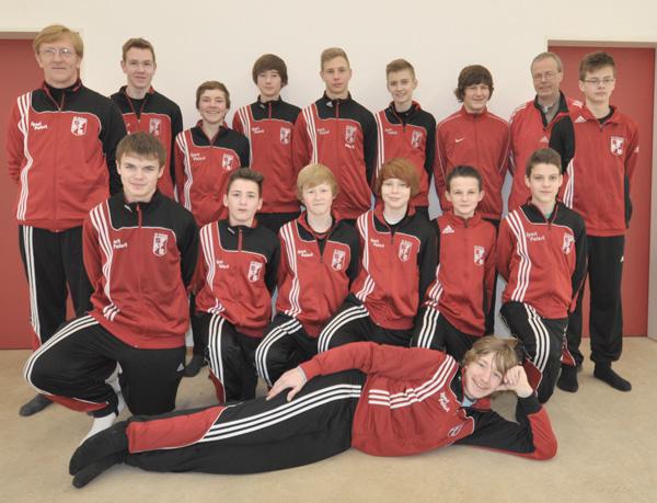 Mannschaftsfoto C-Junioren 2012