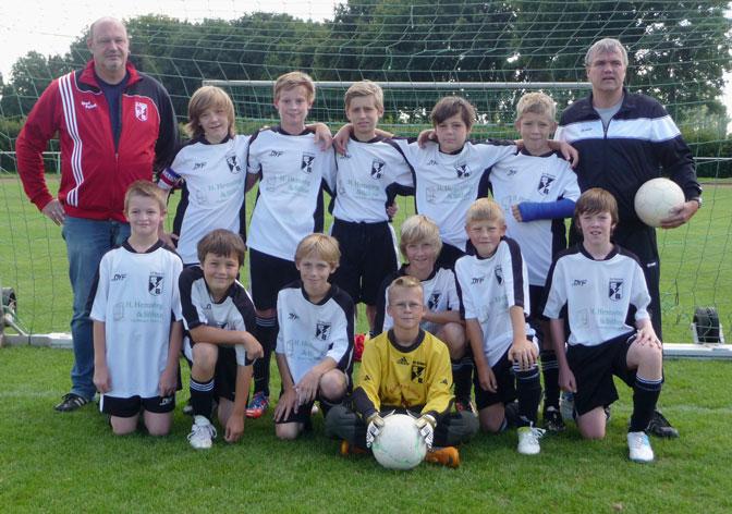 Mannschaftsfoto D1-Junioren Saison-2012/2013