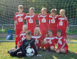 E1-Junioren-Mannschaft - Saison 2012/2013 - Klick für größere Darstellung