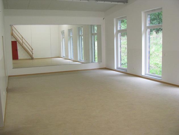 Neuer Gymnastikraum am Platzhaus