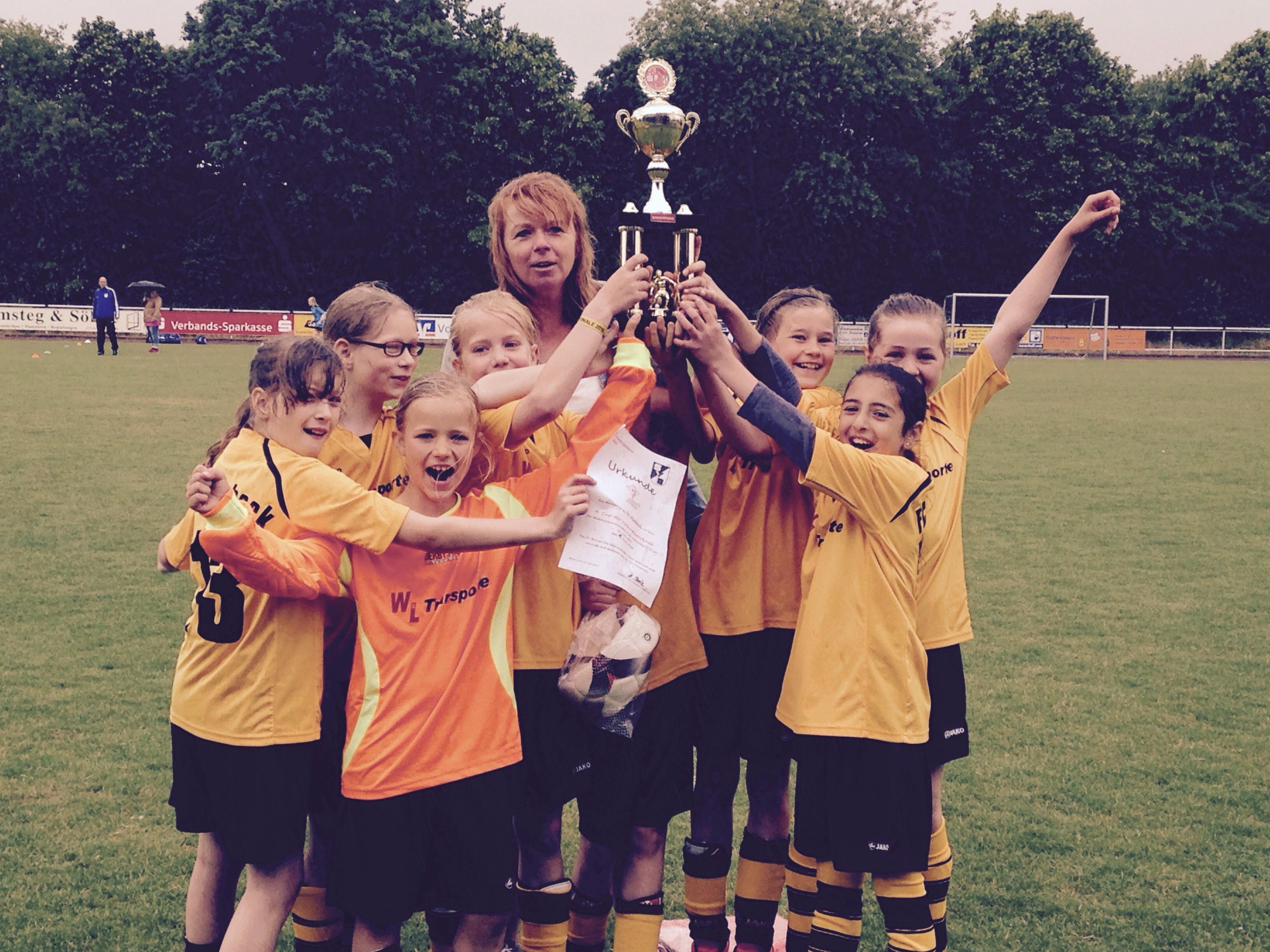FC Marbeck - Siegerinnen  U 11